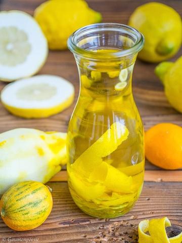 Rezept Zitronenöl
