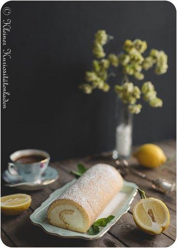 Rezept Zitronenrolle