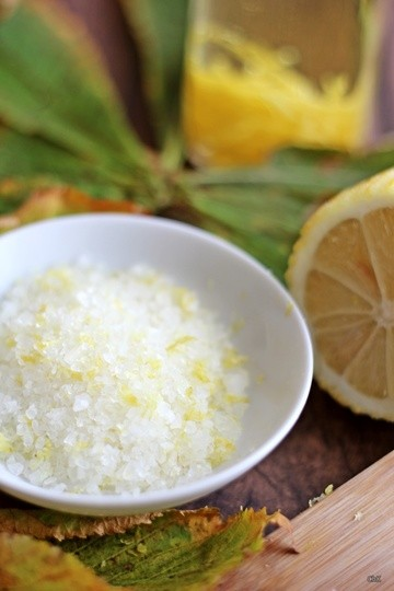 Rezept Zitronensalz