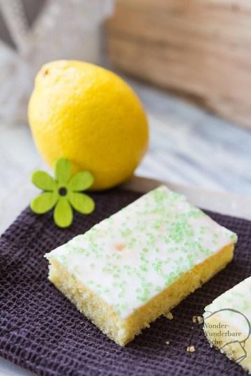Rezept Zitronenschnitten vom Blech