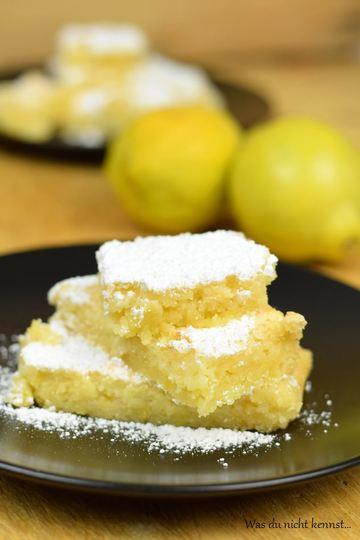 Rezept Zitronenschnitten