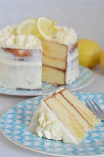 Rezept Zitronentorte mit Lemon-Curd