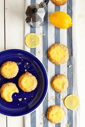 Rezept Zitronige Käsekuchen-Kekse