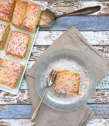 Rezept Zitroniger Pudding-Keks-Kuchen