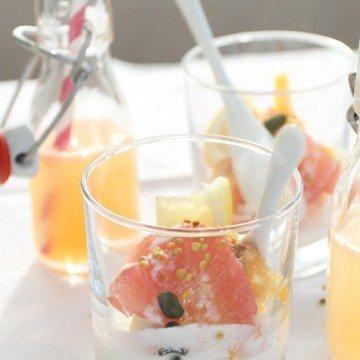 Rezept Zitrusfrüchte-Verrines