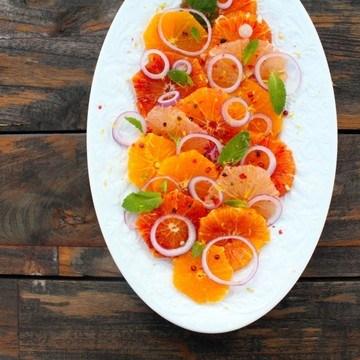 Rezept Zitrussalat mit rosa Pfeffer