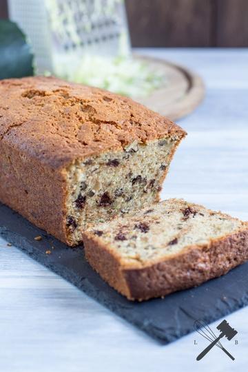 Rezept Zucchini Bread mit Schokolade und Nüssen