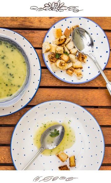 Rezept Zucchini-Creme-Suppe