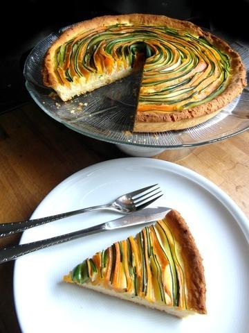 Rezept Zucchini-Möhren-Tarte
