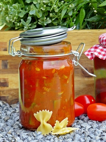 Rezept Zucchini-Paprikachutney