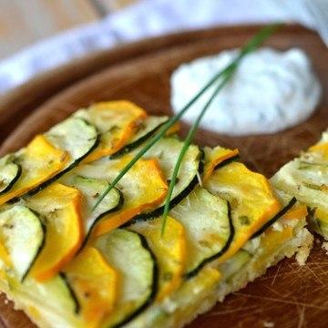 Rezept Zucchini-Parmesan-Tarte