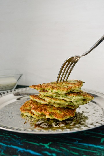 Rezept Zucchini-Puffer