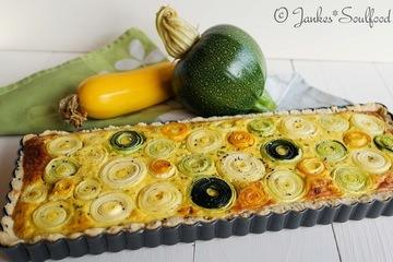 Rezept Zucchini-Quiche