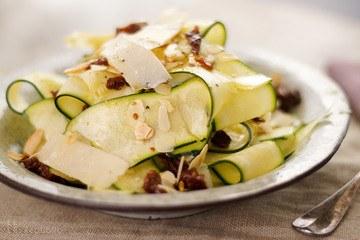 Rezept Zucchini Salat mit Trüffelöl