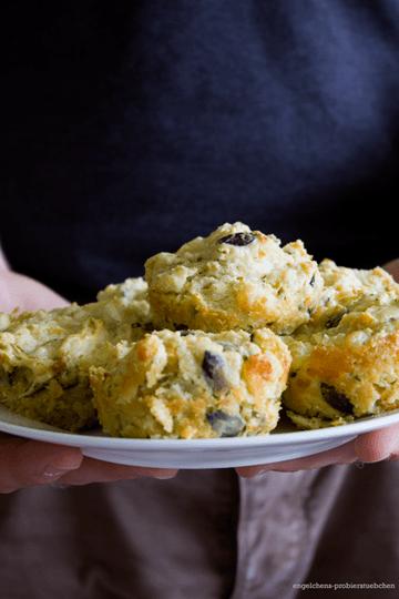 Rezept Zucchini-Schafkäse-Muffins