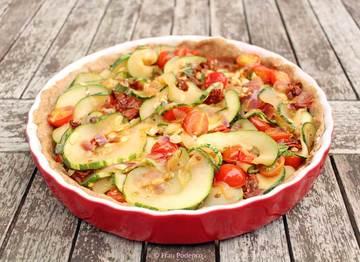 Rezept Zucchini-Tarte
