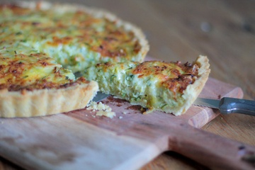 Rezept Zucchini Tarte