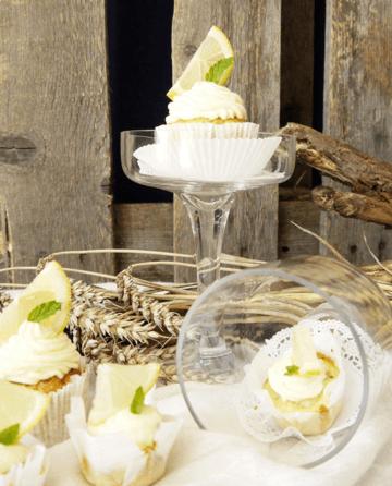 Rezept Zucchini-Zitrone Cupcakes, mit Mascarpone-Frosting