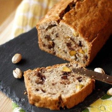 Rezept Zucchinikuchen mit Schokolade und Pistazien