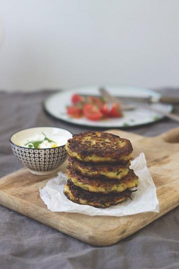 Rezept Zucchinipuffer mit Feta - griechisches Rezept