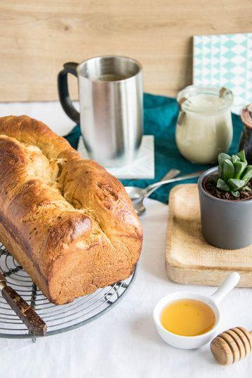 Rezept Zuckerrübensirup Brioche mit Honigcreme