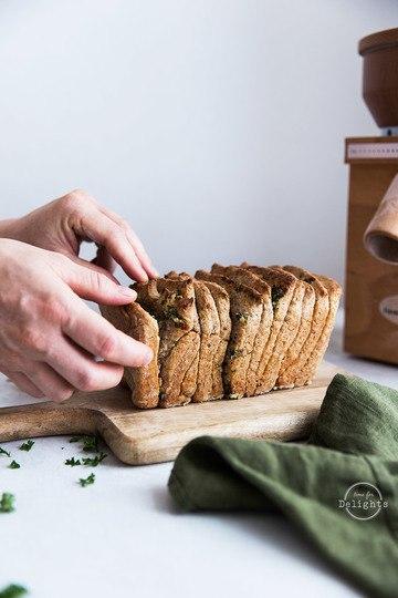 Rezept Zupfbrot Rezept mit Kräutern