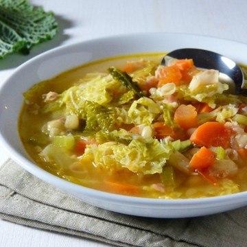 Rezept Zuppa di cavolo verza