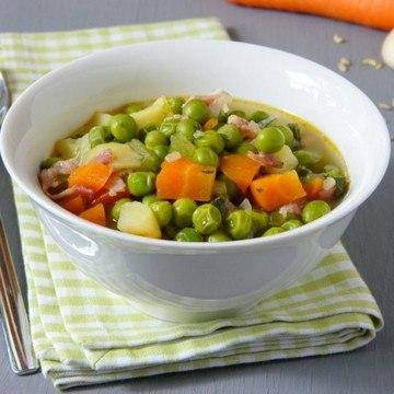 Rezept Zuppa di piselli