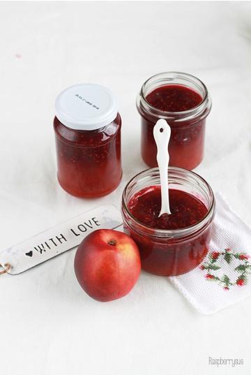 Rezept Zweifarbige Nektarine Melba Marmelade
