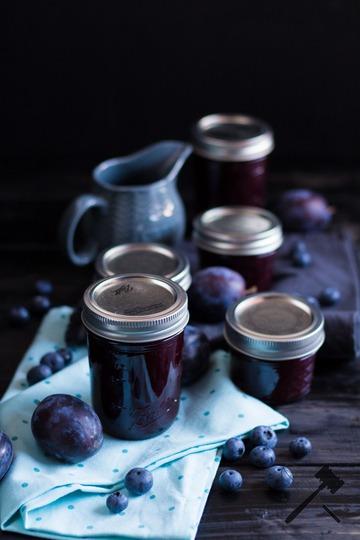 Rezept Zwetschgen Heidelbeer Marmelade