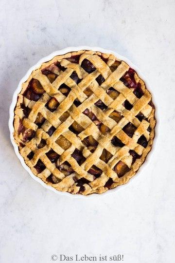 Rezept Zwetschgen-Pie