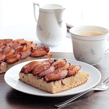 Rezept Zwetschgenkuchen mit Grießcreme