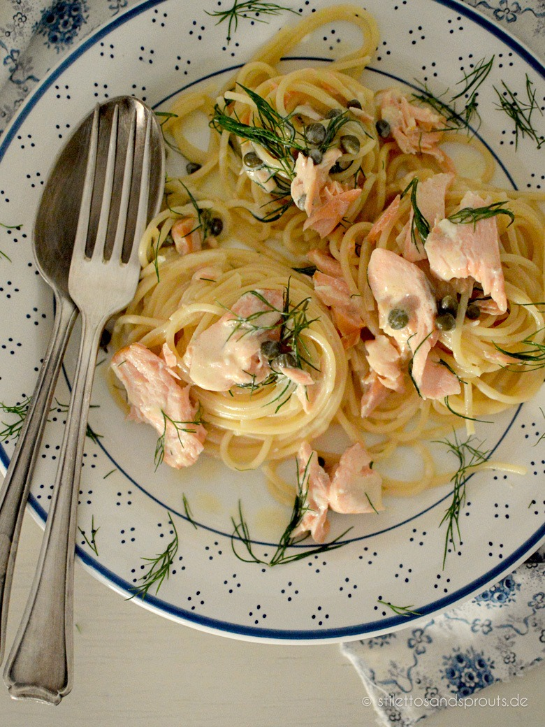 Rezept 10-Minuten-Zitronen-Lachs-Pasta nach Donna Hay