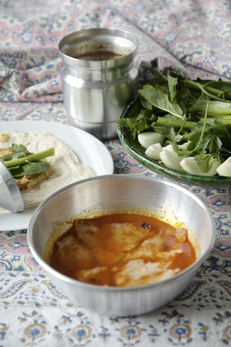 Rezept Abgoosht-Dizi - persischer Lammeintopf