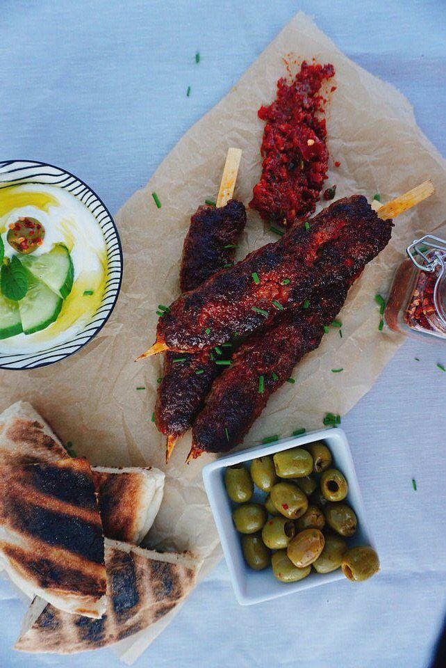 Rezept Adana Kebap Rezept – original mit Joghurtsoße aus der Türkei