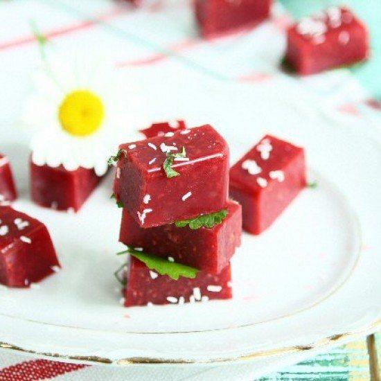 Rezept Agar Agar Raspberry Snack