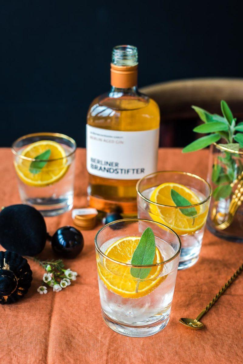 Rezept Aged Gin Tonic