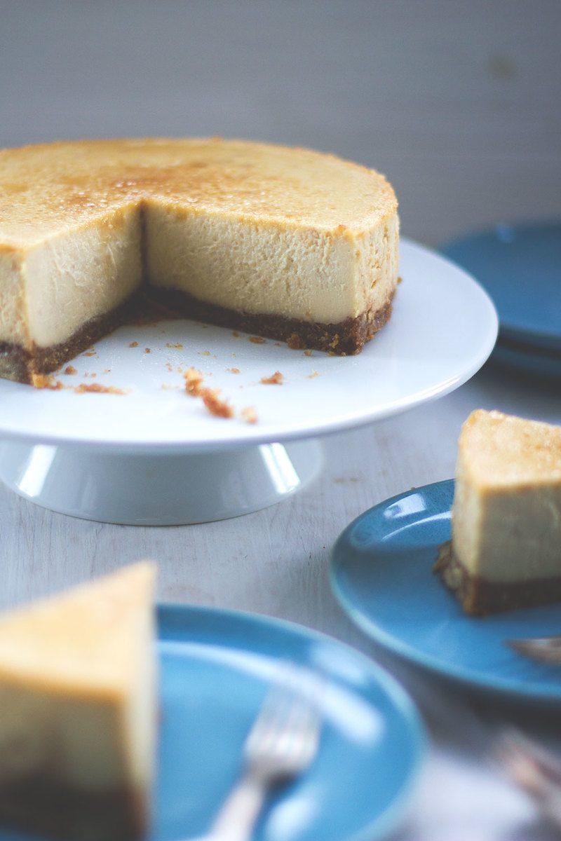 Rezept Ahornsirup-Walnuss-Cheesecake aus dem Thermomix-Varoma