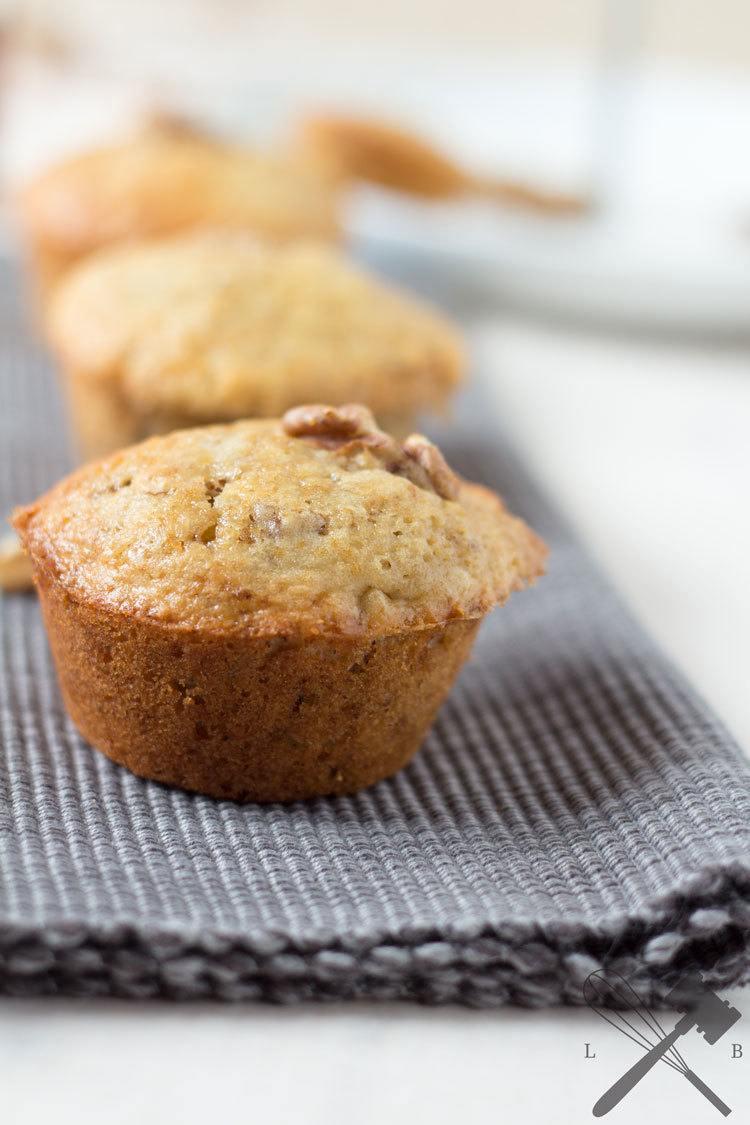 Rezept Ahornsirup & Walnuss Muffins