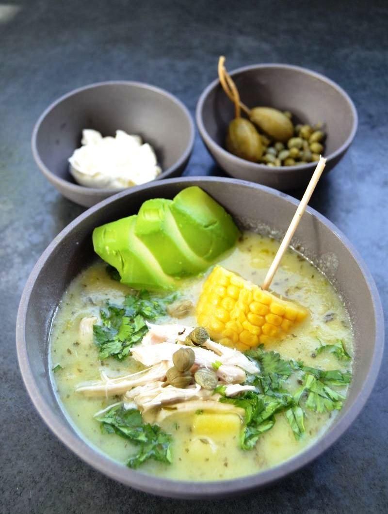 Rezept Ajiaco - Hühnereintopf kolumbianisch