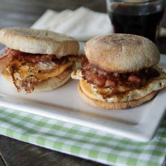 Rezept Almost Egg-Mc-Muffins