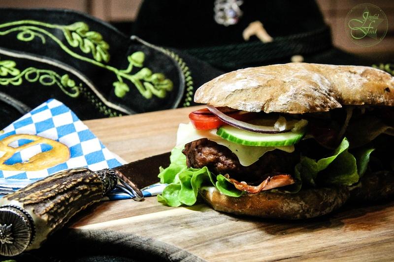 Rezept Alpen Burger