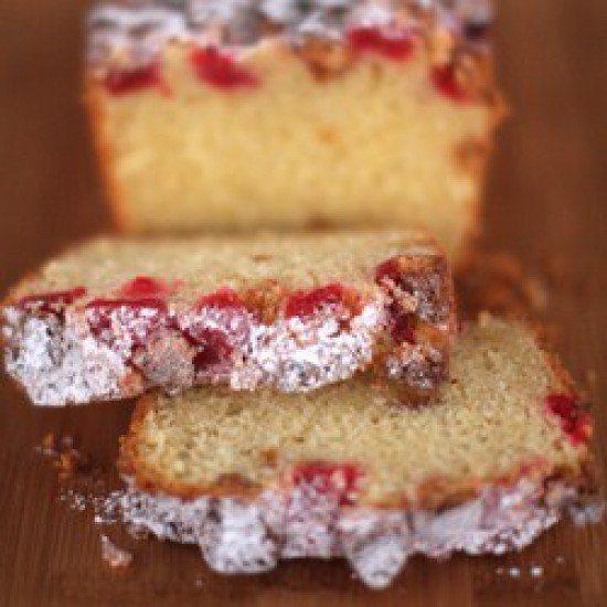 Rezept Amarettikuchen mit Kirschen