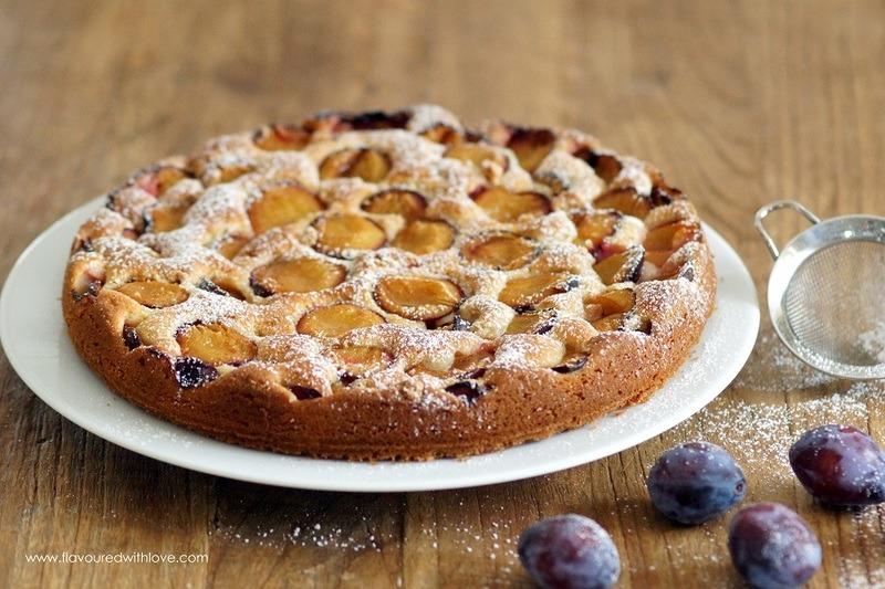 Rezept Amarettini-Zwetschgenkuchen
