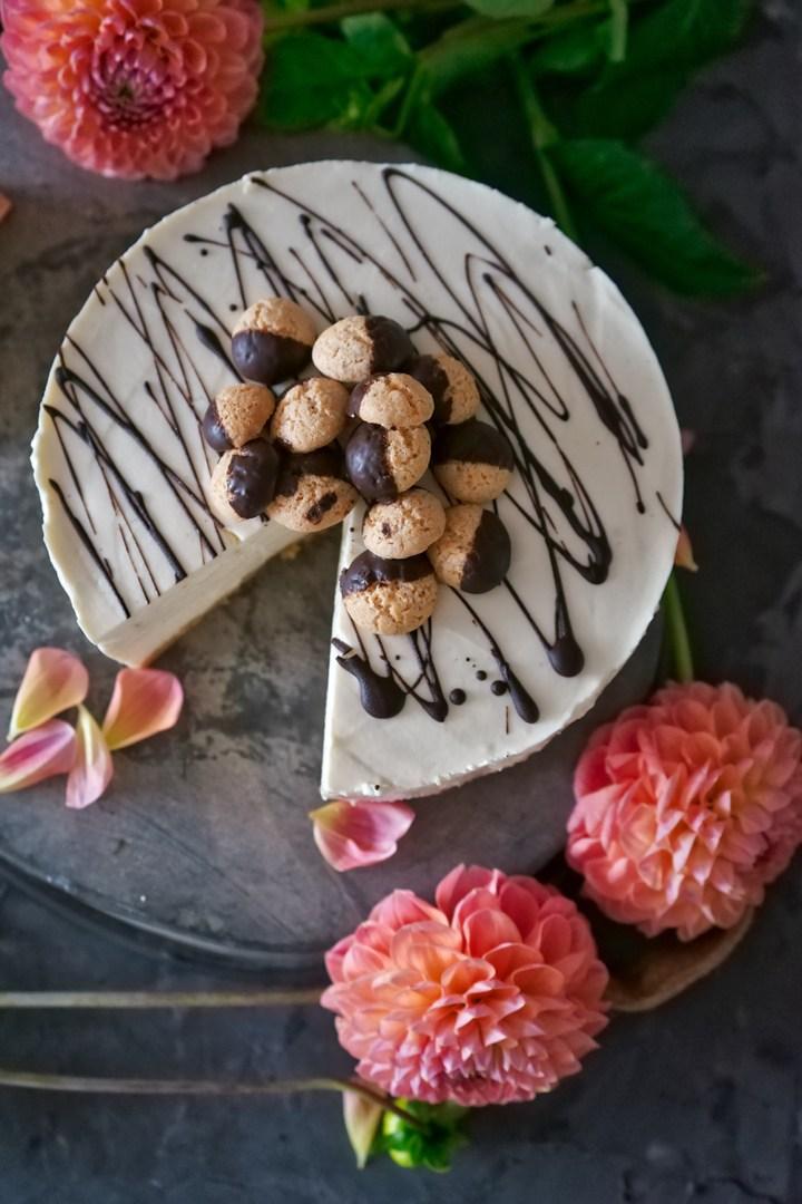 Rezept Amaretto-Cheesecake – no bake