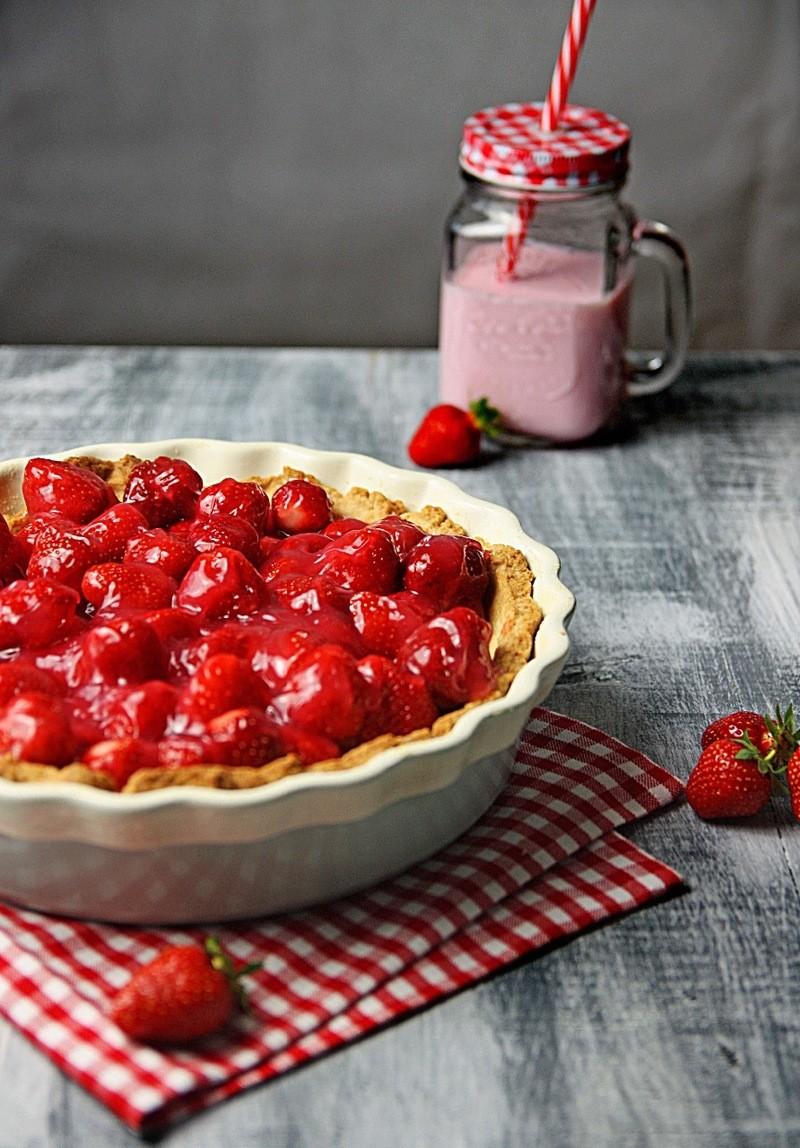 Rezept Amerikanische Erdbeer Pie