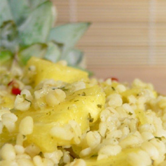 Rezept Ananas-Bulgur-Salat