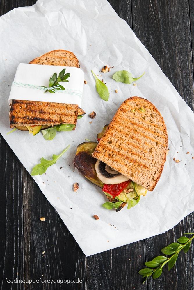Rezept Antipasti-Sandwich mit Zitronen-Basilikum-Aioli