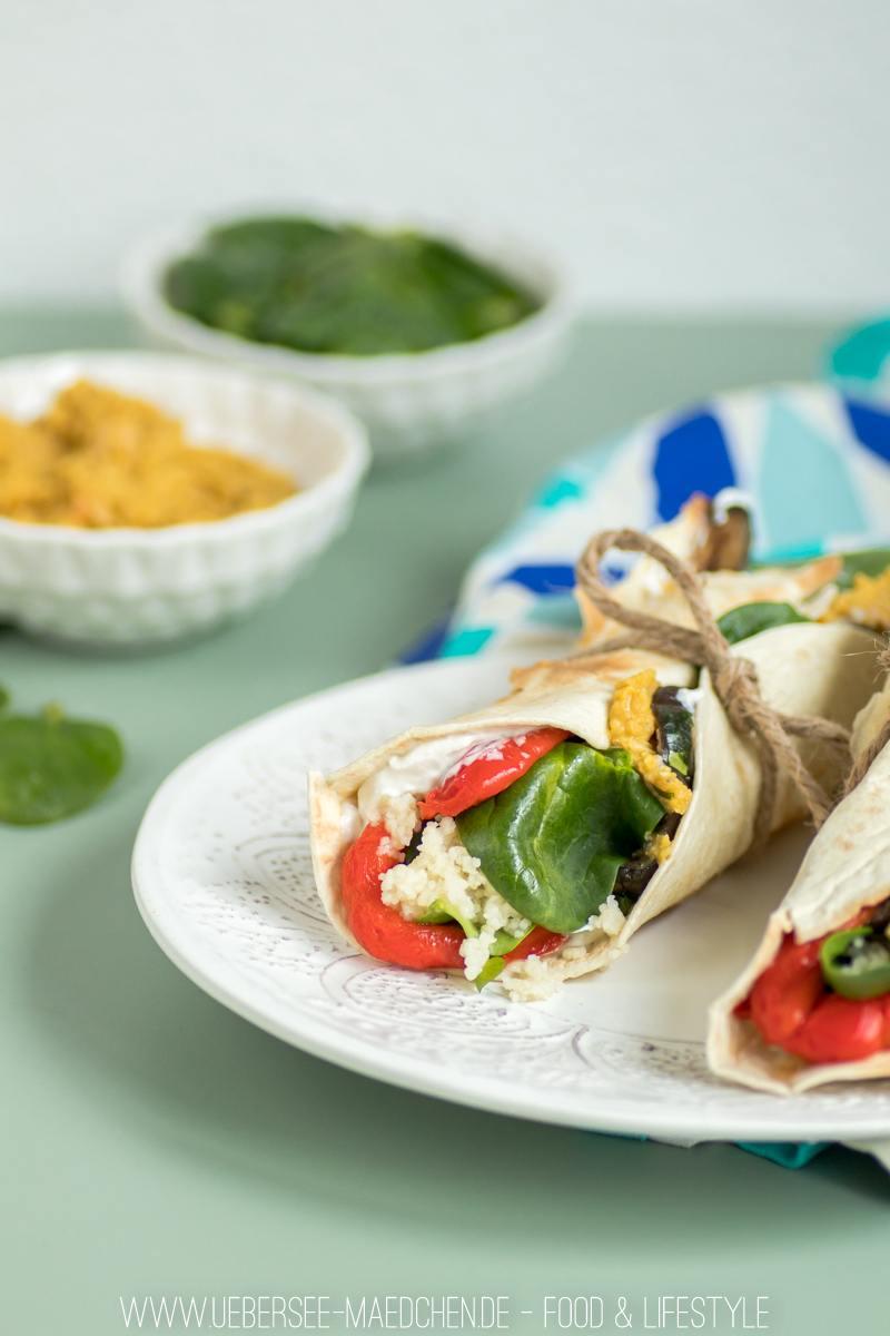 Rezept Antipasti-Wraps für die Mittagspause