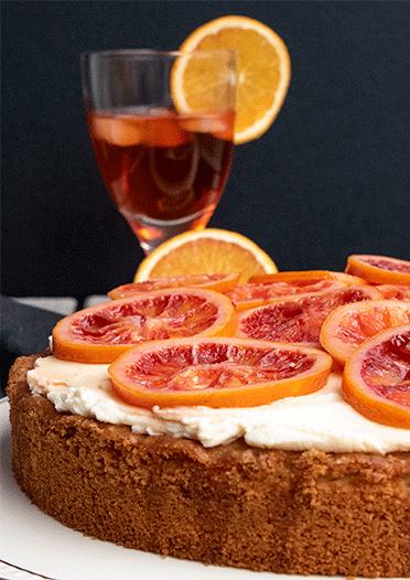 Rezept Aperitivo-Spritz-Kuchen
